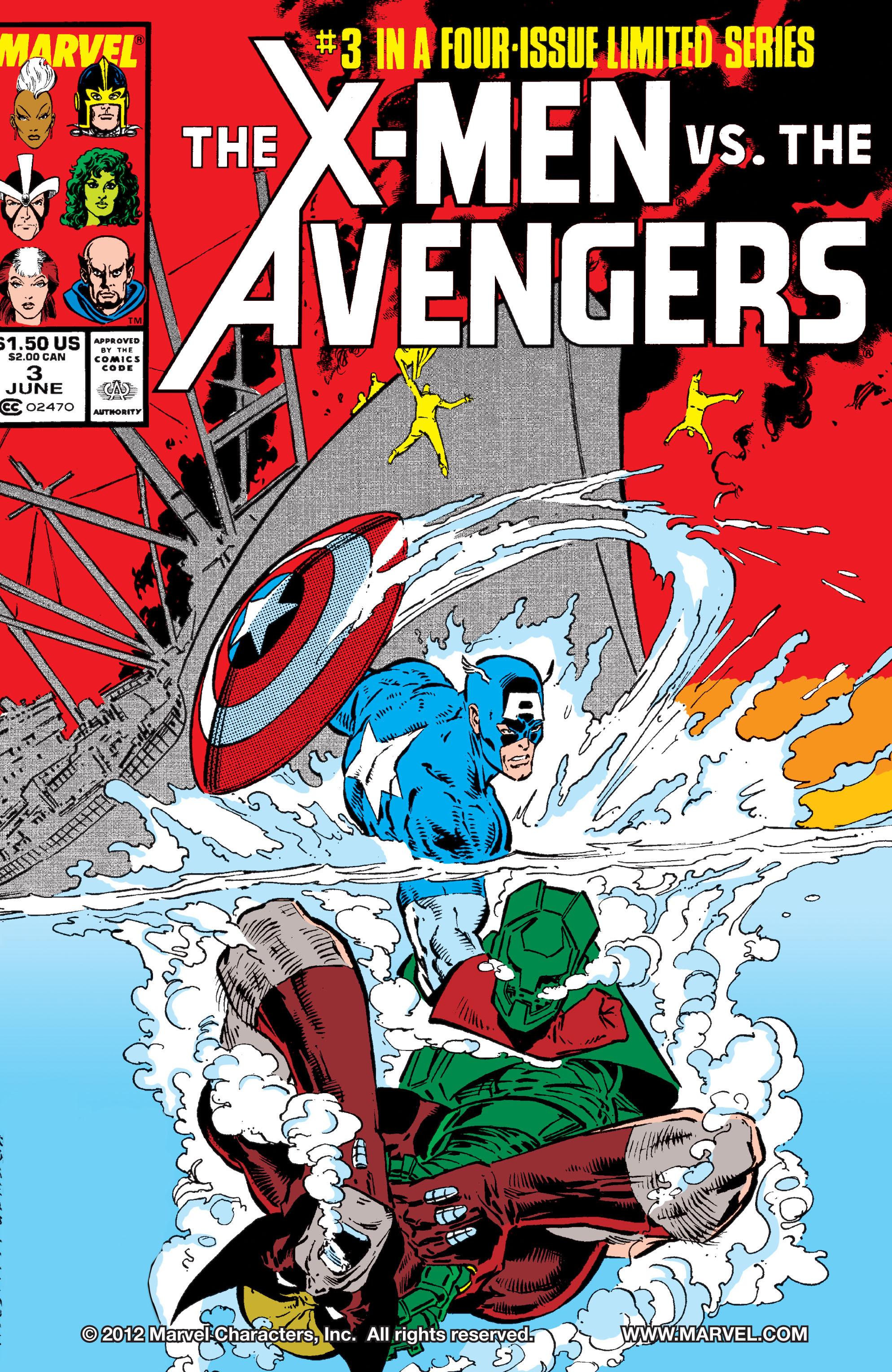 X-Men vs Avengers Vol 1 3 - Marvel Comics Database