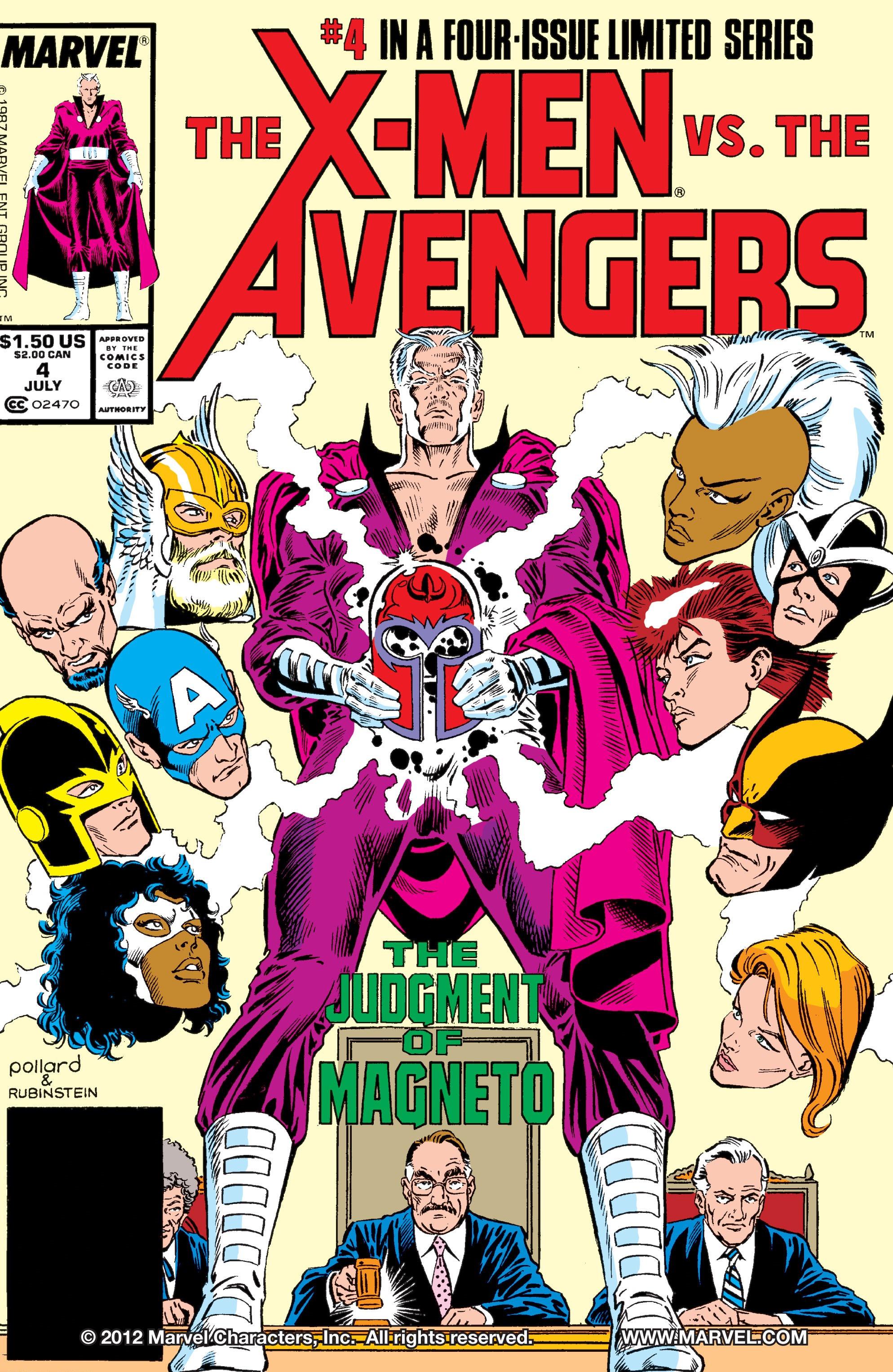 X-Men vs Avengers Vol 1 4 - Marvel Comics Database