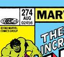 Incredible Hulk Vol 1 274
