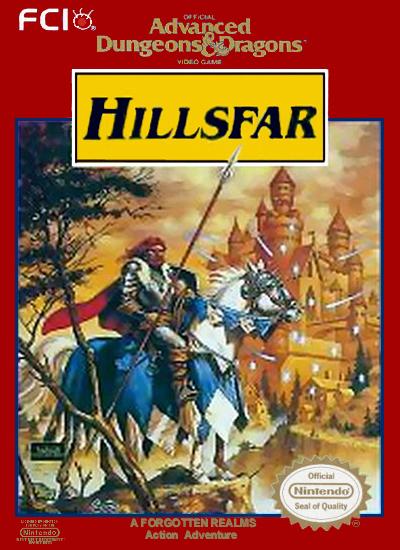 Advanced Dungeons Amp Dragons Hillsfar The Nintendo Wiki