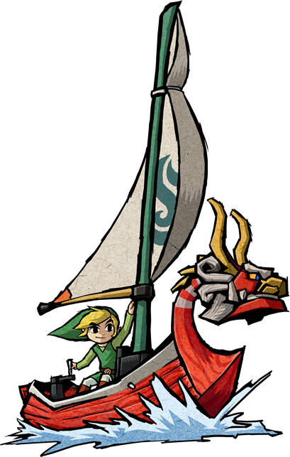 Boring. king of red lions zelda wind waker