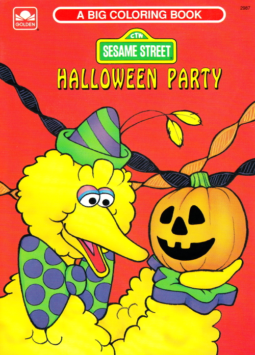 Halloween Coloring Books Muppet Wiki