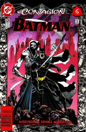 Cover for Batman #529 (1996)