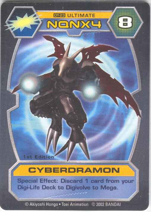 cardcyberdramon digimon wiki go on an adventure to