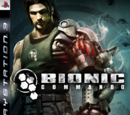 Bionic Commando Game Covers