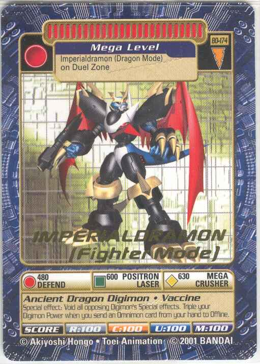 imperialdramon card - photo #5