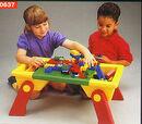 637 Plastic Playtable