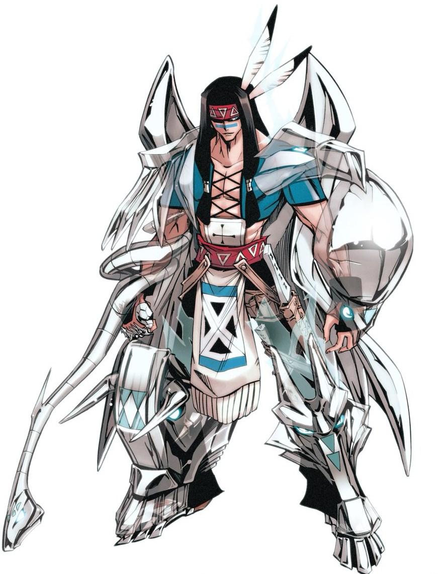 Shaman King Silver_Arms_1