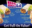 Big Bell Value Menu