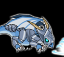 Armored Baby Frost Dragon