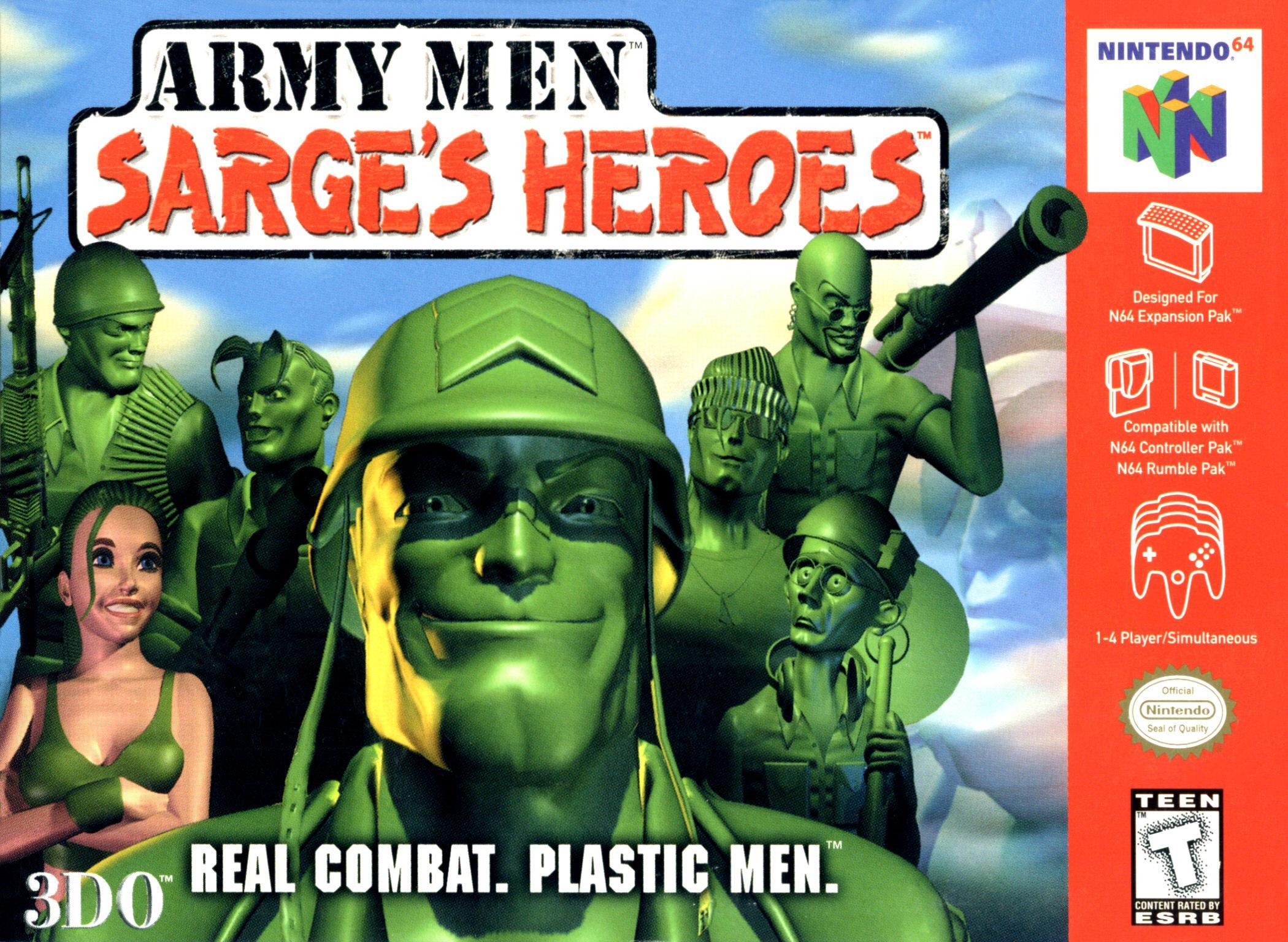 30 Day Video Game Challenge N64_NA_ArmyMenSargesHeroes