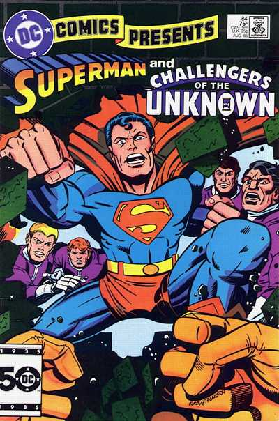 Dc Comics Presents Vol 1 84 Dc Comics Database