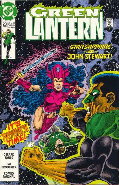 Green Lantern (Vol 3) # 49 (VFN (VyFne Plus DC Comics ORIG US