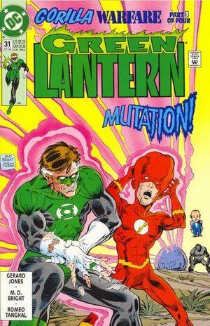 The Flash y Arrow no estsrán en el Universo DC en el Cine. 300px-Green_Lantern_Vol_3_31