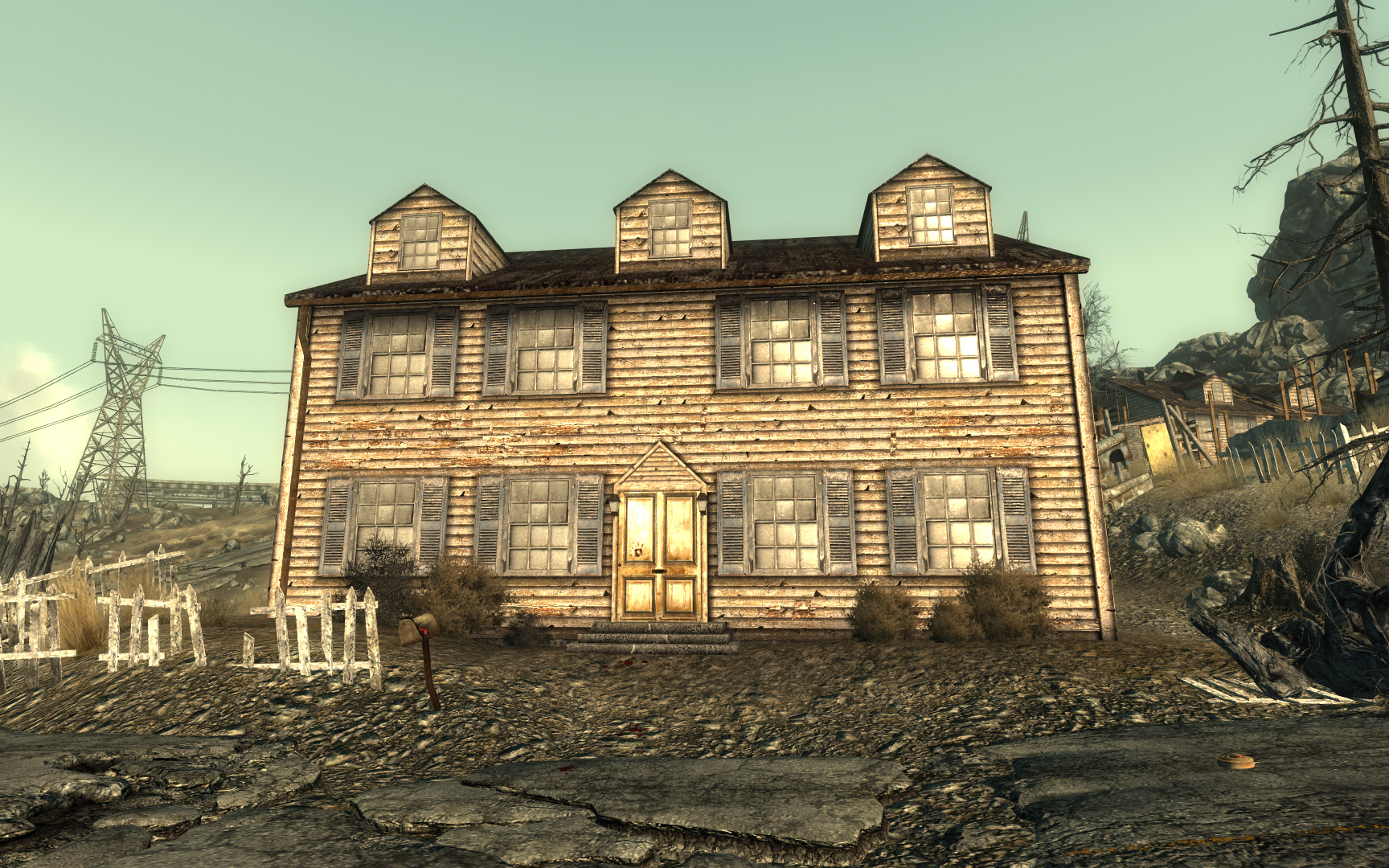 Gibson house - The Fallout wiki - Fallout: New Vegas and more