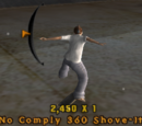 No Comply 360 Shove-It