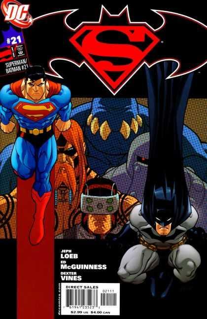 supermanbatman vol 1 21 dc comics database