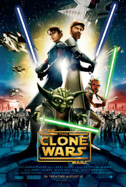 The Clone Wars filme poster
