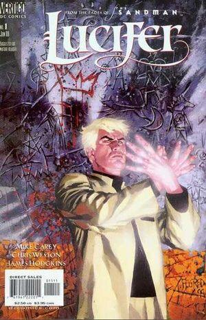 Cubierta para Lucifer # 1 (2000)