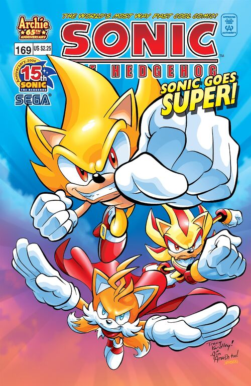 Archie Sonic The Hedgehog Issue 169 Mobius Encyclopaedia