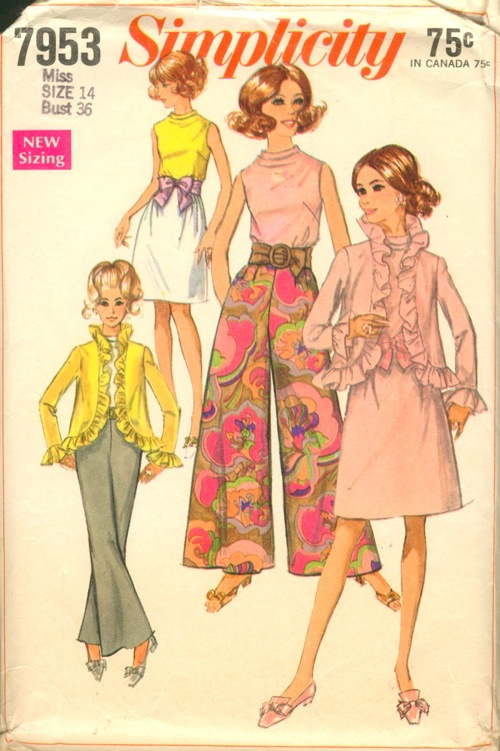 Simplicity 7953 Vintage Sewing Patterns