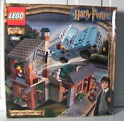 Image - Escape from Privet Drive lego.jpg - Harry Potter ...