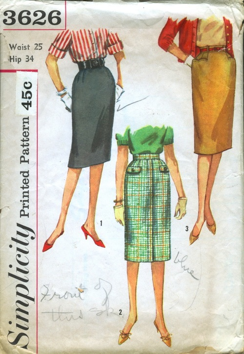 Simplicity 3626 Vintage Sewing Patterns