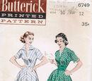 Butterick 6749 A