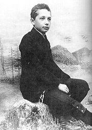 Albert Einstein as a child