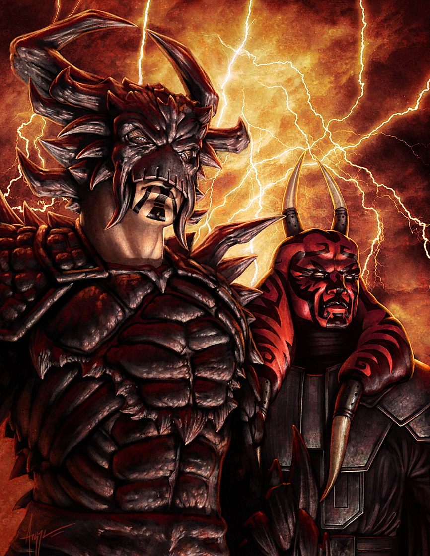 Darth Krayt vs Darth Bane Darth Krayt And His Regent