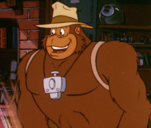 Tracy the Gorilla - Filmation Ghostbusters Wiki