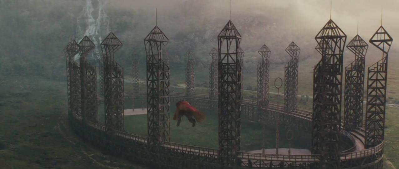 Quidditch pitch...