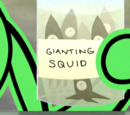 Gianting squid fiends