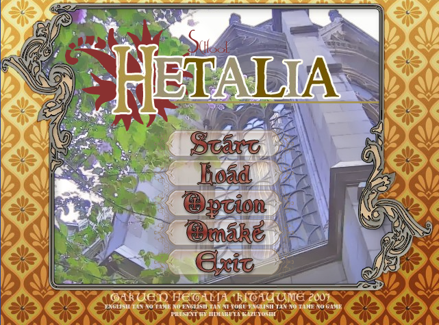 Hetalia school dating sim 7