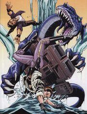 Leia-Raal-Drachenschlange
