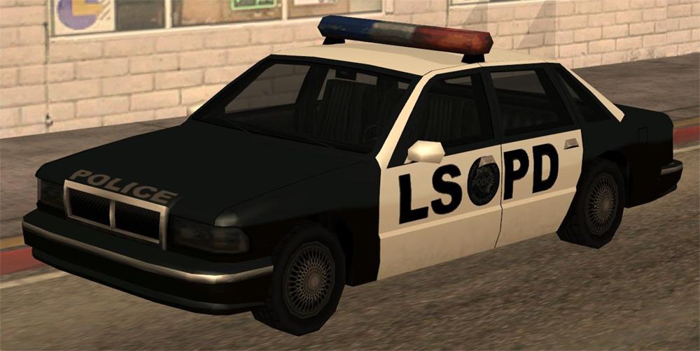 Full resolution   Gta San Andreas Police Cars