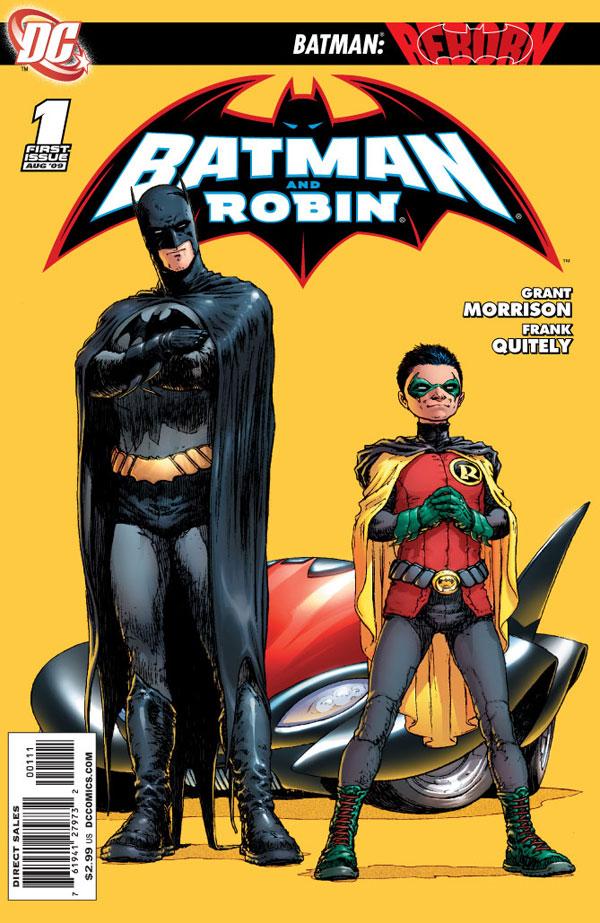 Batman and robin vol 1 1a - Image de batman et robin ...