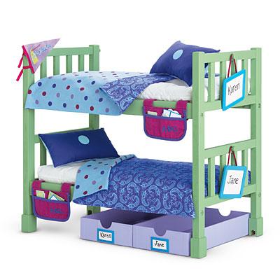 Camp Bunk Bed Set - American Girl Wiki