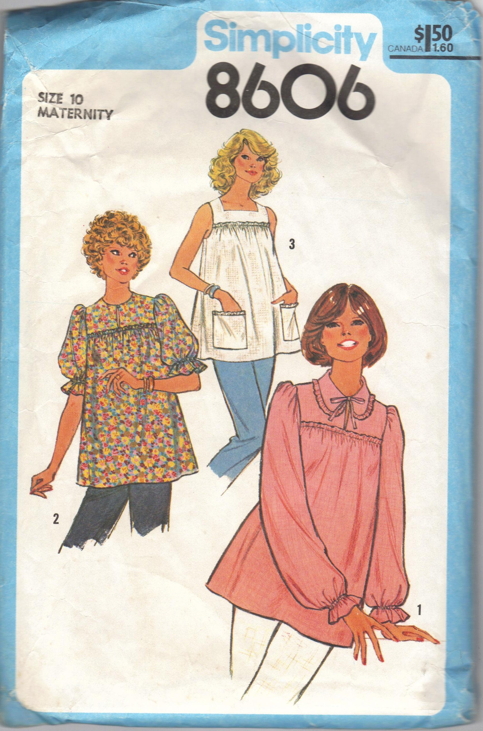Simplicity 8606 Vintage Sewing Patterns