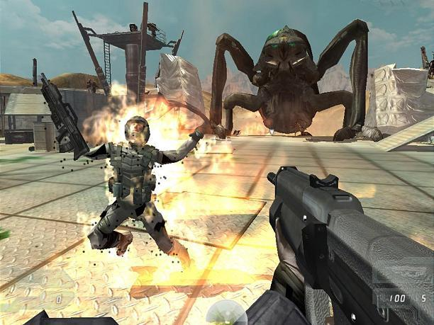 game starship troopers 2
