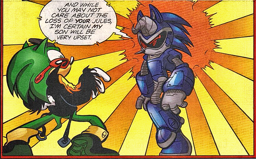 Sonic The Werehog Vs Scourge Traffic Club