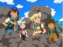 EP572 Ash, Maya, Barry y Brock entre el humo.png