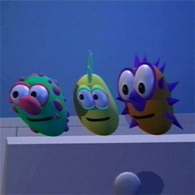 Monsters From Junior Bedroom Veggie Tales 400 Benny The Whale