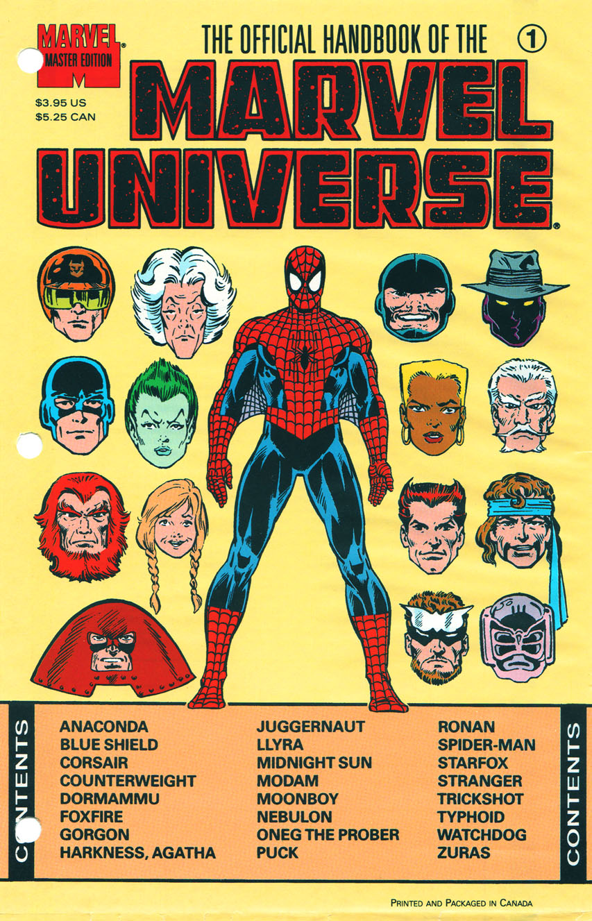 Official handbook of the marvel universe marvel comics - Marvel spiderman comics pdf ...