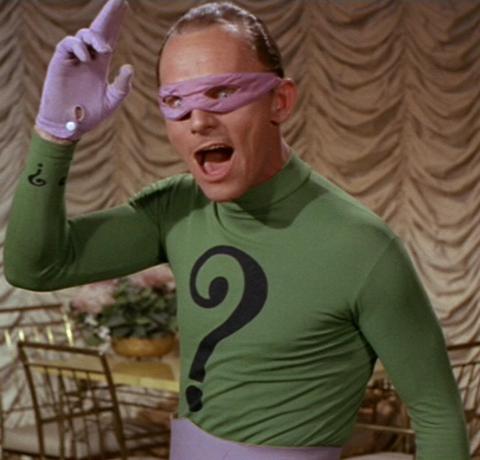 original batman riddler