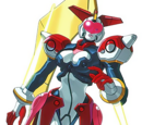 Tech Romancer Mecha Images