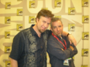 Dan and Swampy at Comic-Con.png