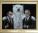 Damon, Carlton and a Polar Bear