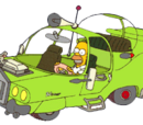Vehicles in Simpsons Hit & Run