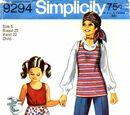 Simplicity 9294